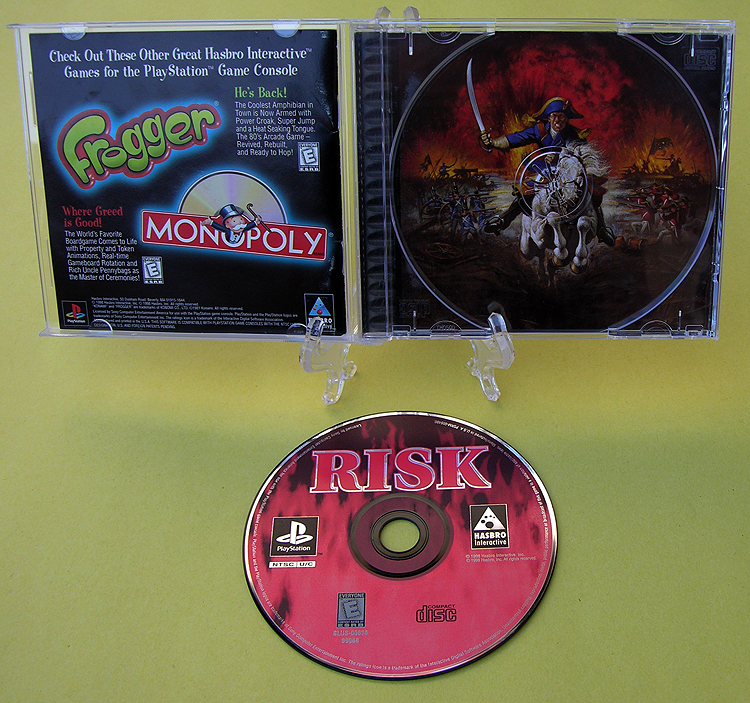Risk: Global Domination: TODA la información - PS2 -